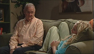 Harold Bishop, Sky Mangel in Neighbours Episode 4963