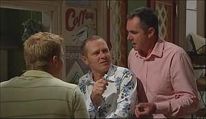 Boyd Hoyland, Max Hoyland, Karl Kennedy in Neighbours Episode 4964
