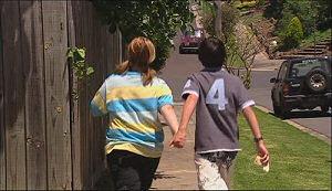 Bree Timmins, Zeke Kinski in Neighbours Episode 4964
