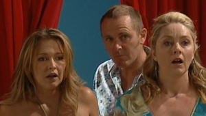 Steph Scully, Max Hoyland, Janelle Timmins in Neighbours Episode 4999