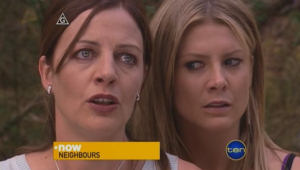 Gail Robinson, Izzy Hoyland in Neighbours Episode 5001