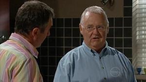 Karl Kennedy, Harold Bishop in Neighbours Episode 5002