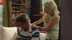 Justine Spensley, Ned Parker in Neighbours Episode 5004