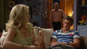 Justine Spensley, Karl Kennedy, Ned Parker in Neighbours Episode 5004