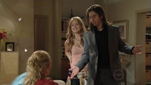 Janelle Timmins, Elle Robinson, Dylan Timmins in Neighbours Episode 5005