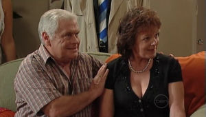 Lou Carpenter, Mishka Schneiderova in Neighbours Episode 5005