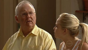 Harold Bishop, Sky Mangel in Neighbours Episode 5005
