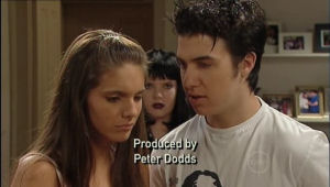 Bree Timmins, Rachel Kinski, Stingray Timmins in Neighbours Episode 5006