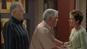 Harold Bishop, Lou Carpenter, Susan Kennedy in Neighbours Episode 5006