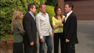 Izzy Hoyland, Toadie Rebecchi, Max Hoyland, Gail Robinson, Paul Robinson in Neighbours Episode 5009