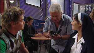 Carmella Cammeniti, Ned Parker, Lou Carpenter in Neighbours Episode 5013