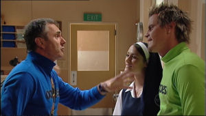 Karl Kennedy, Carmella Cammeniti, Ned Parker in Neighbours Episode 5013