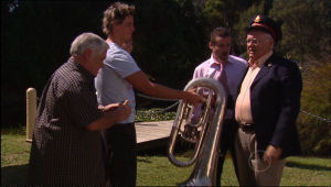 Harold Bishop, Lou Carpenter, Toadie Rebecchi, Ned Parker in Neighbours Episode 5015