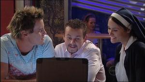 Ned Parker, Toadie Rebecchi, Carmella Cammeniti in Neighbours Episode 5015