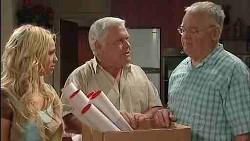 Harold Bishop, Lou Carpenter, Sky Mangel in Neighbours Episode 5017