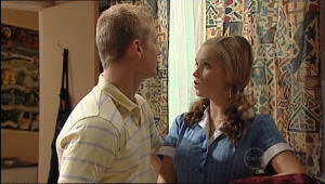 Boyd Hoyland, Janae Timmins in Neighbours Episode 5022