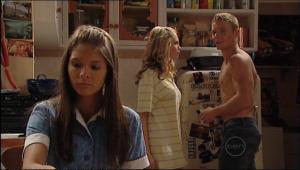 Janae Hoyland, Boyd Hoyland, Rachel Kinski in Neighbours Episode 5022