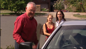 Harold Bishop, Elle Robinson, Dylan Timmins in Neighbours Episode 5022