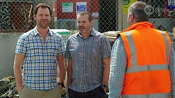 Shane Rebecchi, Toadie Rebecchi, Karl Kennedy in Neighbours Episode 8096