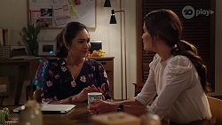Dipi Rebecchi, Elly Brennan in Neighbours Episode 8096
