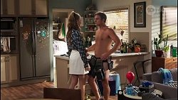 Chloe Brennan, Kyle Canning in Neighbours Episode 8098