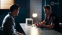 Finn Kelly, Mark Brennan in Neighbours Episode 8102