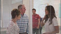 Susan Kennedy, Karl Kennedy, Ned Willis, Elly Conway in Neighbours Episode 8102