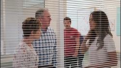 Susan Kennedy, Karl Kennedy, Ned Willis, Elly Brennan in Neighbours Episode 8102