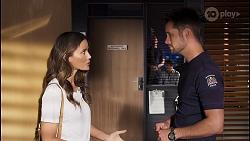 Elly Brennan, Mark Brennan in Neighbours Episode 8102