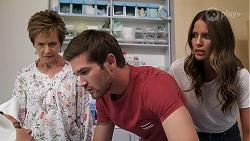 Susan Kennedy, Ned Willis, Elly Brennan in Neighbours Episode 8103