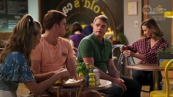 Chloe Brennan, Kyle Canning, Gary Canning, Amy Williams in Neighbours Episode 8103