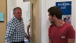 Karl Kennedy, Ned Willis in Neighbours Episode 8103