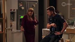 Terese Willis, Mark Brennan in Neighbours Episode 8103