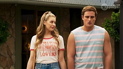 Chloe Brennan, Kyle Canning in Neighbours Episode 8103