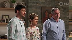 Finn Kelly, Susan Kennedy, Karl Kennedy in Neighbours Episode 8103