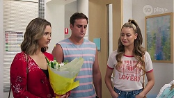Amy Williams, Kyle Canning, Chloe Brennan in Neighbours Episode 8103