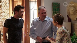 Ned Willis, Karl Kennedy, Susan Kennedy in Neighbours Episode 8103