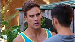 Aaron Brennan, David Tanaka in Neighbours Episode 8105