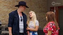 Vance Abernethy, Roxy Willis, Terese Willis in Neighbours Episode 8106