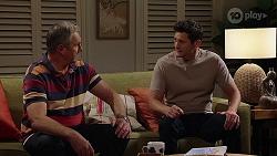 Karl Kennedy, Finn Kelly in Neighbours Episode 8106