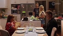 Terese Willis, Ned Miles, Roxy Willis, Vance Abernethy in Neighbours Episode 8106