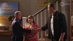 Paul Robinson, Terese Willis, Vance Abernethy in Neighbours Episode 8106