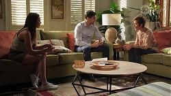 Bea Nilsson, Finn Kelly, Susan Kennedy in Neighbours Episode 8107