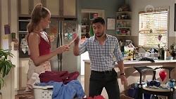 Chloe Brennan, David Tanaka in Neighbours Episode 8107