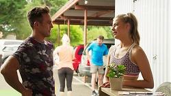 Aaron Brennan, Chloe Brennan in Neighbours Episode 8107