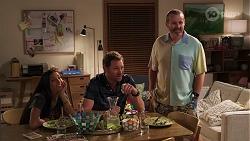 Yashvi Rebecchi, Shane Rebecchi, Toadie Rebecchi in Neighbours Episode 8108