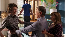 Jimmy Williams, Paul Robinson, Terese Willis in Neighbours Episode 8109