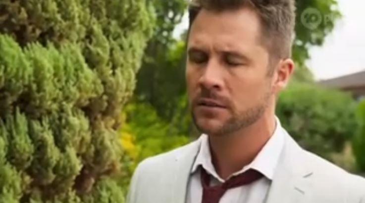 Mark Brennan in Neighbours Episode 8109