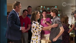Gary Canning, Amy Williams, Jimmy Williams in Neighbours Episode 8109
