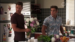 Mark Brennan, Aaron Brennan in Neighbours Episode 8109